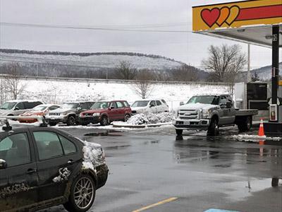 Jonestown Pennsylvania snow storm