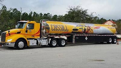 landon cassill fuel tanker for loves