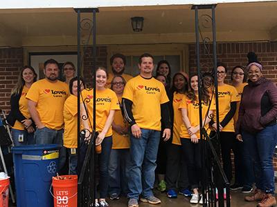 loves volunteers with rebuilding together okc