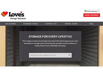 self storage website