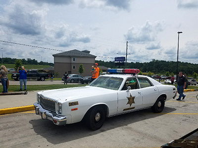cop car from smokey and the bandit
