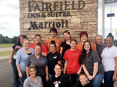 fairfield inn team in van texas