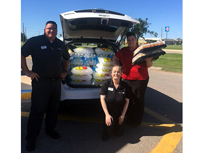 Elk City tornado donation