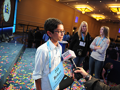okc spelling bee runner up interview