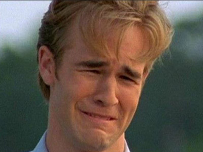 dawson creek crying face