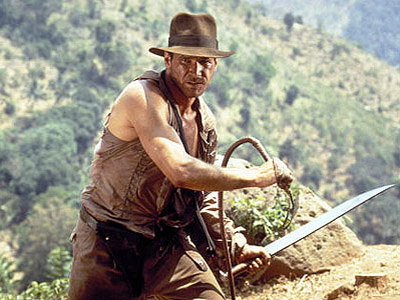 indiana jones in hat