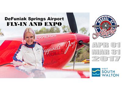 Marvel of Flight air show flyer Florida