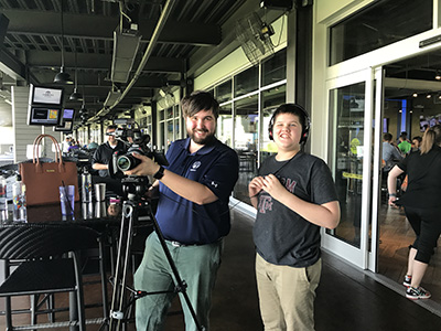 CMNH miracle child helps film with videographer
