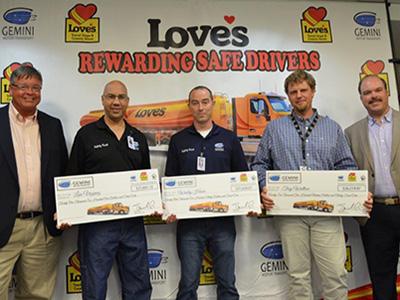 gemini drivers receive bonuses in Orlando