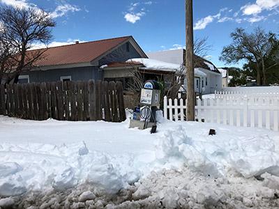 Syracuse Kansas snowstorm 2017