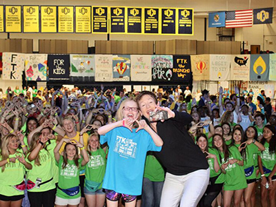 BronchoThon selfie with Jenny Love Meyer and Love's Miracle Child Samantha