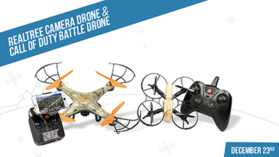 realtree drone and call of duty drone