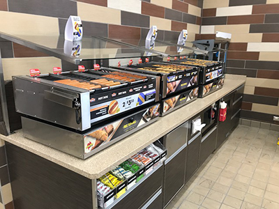 new roller grill at love's truck stop