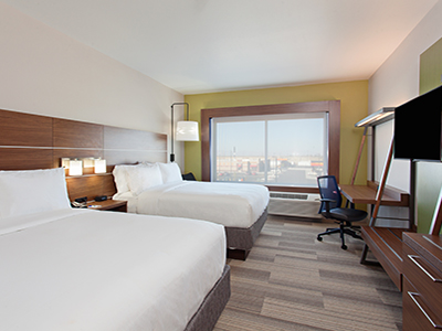 double queen suite holiday inn express