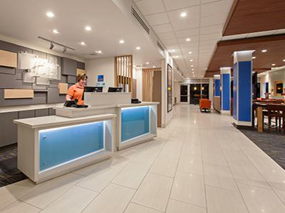 hotel lobby holiday inn express