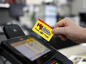 my loves rewards card swiping at register - Loves Fuel Card