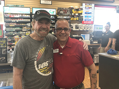 chuck norris at loves travel stop