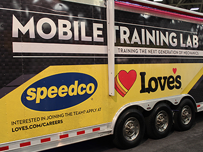 loves mobile training lab at GATS