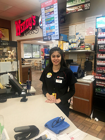loves truck stop intern in new york location