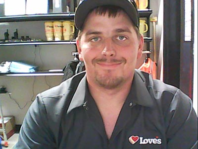 loves truck tire care employee david pickle