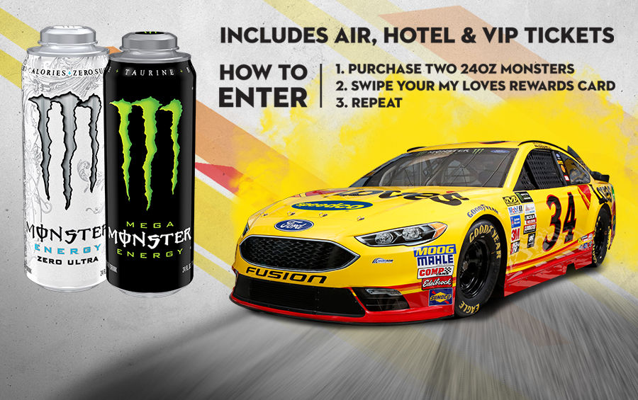 Win A VIP Race Weekend!