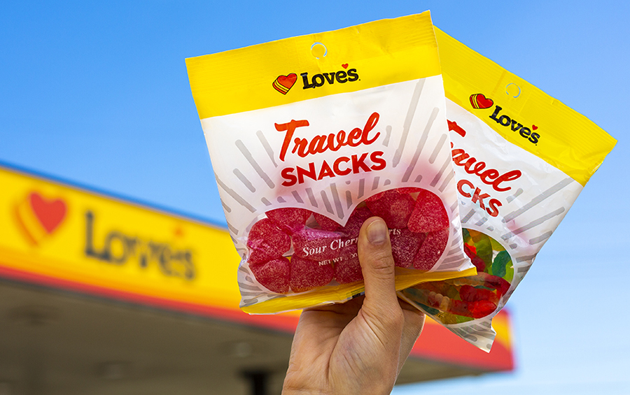 Love's Bagged Candy