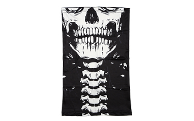 Skeleton neck gaiter