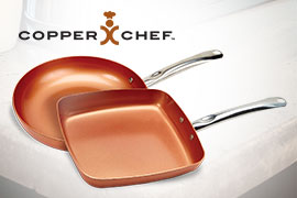 Buy copper pans at Love's