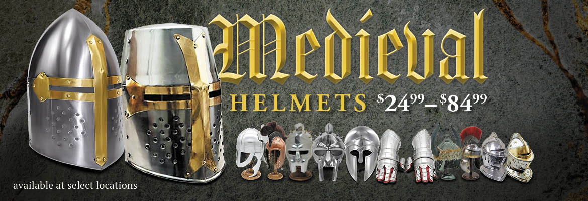 Medieval Helmets Available At Love's Travel Stops