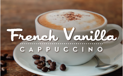 French Vanilla Cappuccino available at Love's Travel Stops