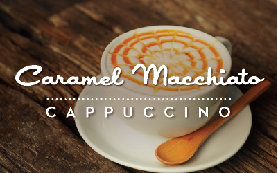 Caramel Macchiato Cappuccino available at Love's Travel Stops