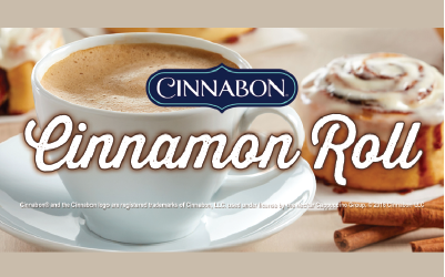 Cinnamon Roll Cappuccino available at Love's Travel Stops