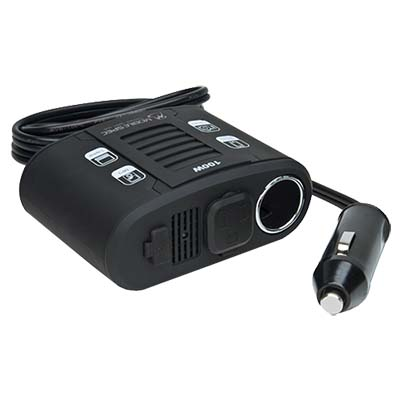 MobileSpec 100 Watt Power Inverter