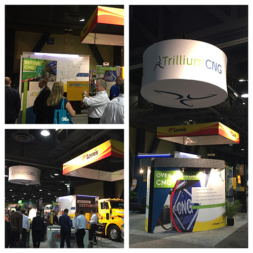 Trillium CNG Logo Unveil in California