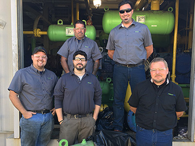trillium cng field maintenance team